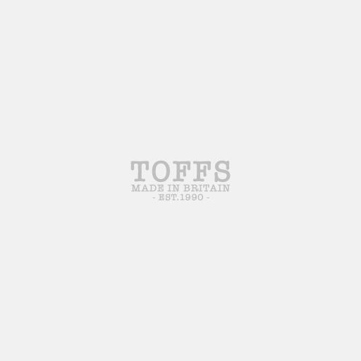 Royal Blue & White Cotton-Merino Scarf