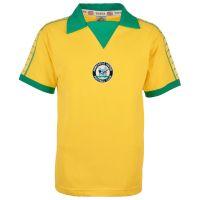 Kids Newcastle United 1976-77 Away Bukta Retro Shirt