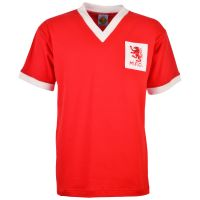 Middlesbrough 1950s Red Retro Football Shirt