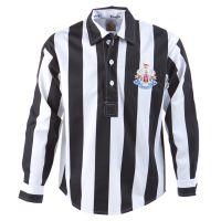 Newcastle United 1950s Cup Final Retro Football Shirt