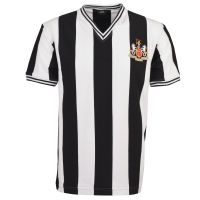 Newcastle United 1960s Retro Football Shirt
