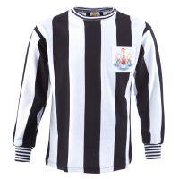 Newcastle United 1969 Fairs Cup Retro Football Shirt