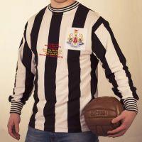 Newcastle United 50th Anniversary Retro Football Shirt