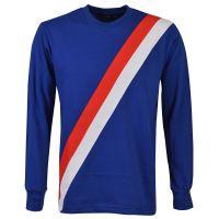 Manchester City 1970s Retro Football Shirt