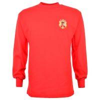 Spain 1960 Di Stefano Retro Football Shirt