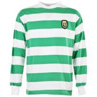 Sporting Lisbon 1950s-1960s Retro Football Shirt