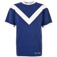 Vintage Style Menswear UK 1920s, 1930s, 1940s, 1950s, 1960s, 1970s TOFFS Classic Retro Navy Short Sleeve Shirt £39.00 AT vintagedancer.com