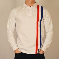 1960s Men's Clothing Escape to Victory White Retro Football Shirt £45.00 AT vintagedancer.com