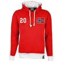 Norway Number 20 Retro Hoodie