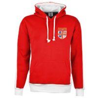 Stoke City Red/White Hoodie