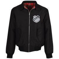 Santos Black Harrington Jacket