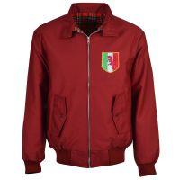 Torino Maroon Harrington Jacket