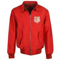 Brentford Red Harrington Jacket