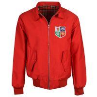 British & Irish Lions 1970's Red Harrington Jacket