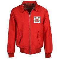 Nottingham Forest Red Harrington Jacket