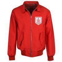 Bournemouth Red Harrington Jacket