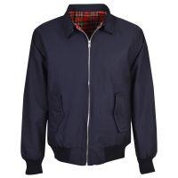 1960s Men's Clothing Harrington Jacket Navy £45.00 AT vintagedancer.com