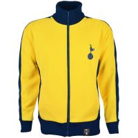 Tottenham Hotspur Retro Track Top Yellow