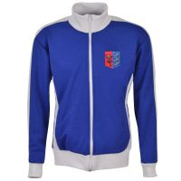 Ipswich Track Top - Royal/White