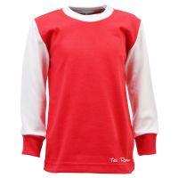 Vintage Style Menswear UK 1920s, 1930s, 1940s, 1950s, 1960s, 1970s Toffs Classic Retro Long Sleeve Kids Football Shirt £24.00 AT vintagedancer.com
