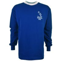 Everton 1966 FA Cup Final Kids Retro Football Shirt