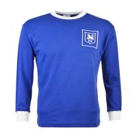 Preston North End 1960s Away Kids Retro Football Shirt