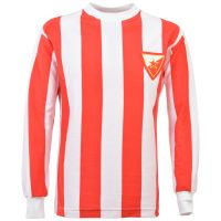 Red Star Belgrade 1960s Kids Retro Football Shirt