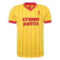 Liverpool 1982 Yellow Away Shirt