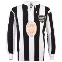 Newcastle United Brown Ale 80 Year Celebration Retro Football Shirt