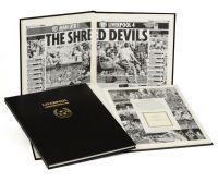 Liverpool Football Newspaper Book