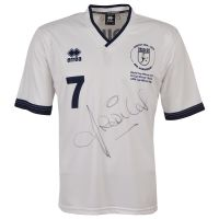 Limited Edition Ossie Ardiles Signed Football Shirt