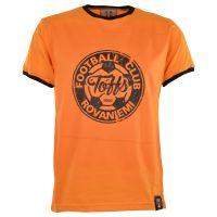 TOFFS Rovaniemi T-Shirt - Amber/Black Ringer