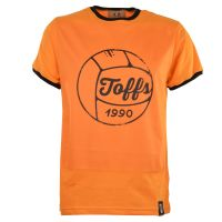 TOFFS Football T-Shirt - Amber/Black Ringer