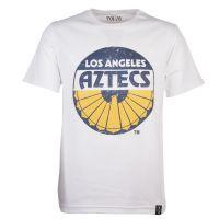 Los Angeles Aztecs Vintage Logo - White T-Shirt
