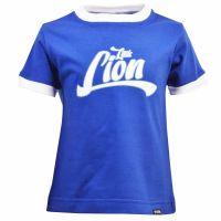 Kids Little Lion - Royal/White Ringer