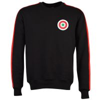 A C Milan Sweatshirt Black/Red