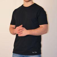 Toffs Retro Black Tee Shirt