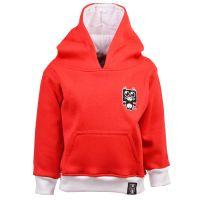 Kids Sunderland Hoodie - Red/White