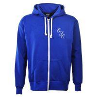 Everton Zipped Hoodie - Royal