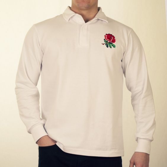Retro England Rugby Jersey English Polo Shirt Rose Lion Vintage Style Sweater T