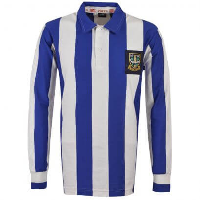 Sheffield Wednesday 1940 - 1950 Retro Football Shirt - Made to order - Lead Time - 4 weeks