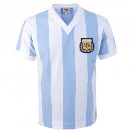 Argentina 1982 World Cup Retro Football Shirt - Made to order - Lead Time - 4 - 6 weeks
