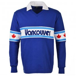 Vancouver Whitecaps 1980s Away Long Sleeve Retro Shirt