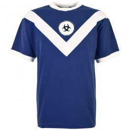 Bordeaux 1960s Retro Football Shirt - Made to order - Lead time - 4 Weeks