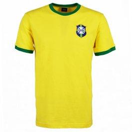 Kids Brazil Yellow/Green T-Shirt