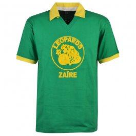 Zaire 1974 World Cup Green Retro Football Shirt