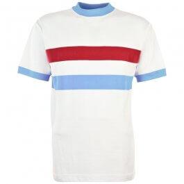 Thames Ironworks 1960 Away Retro Football Shirt