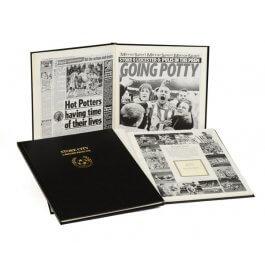 Stoke City Football Newspaper Book