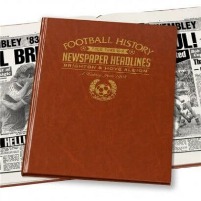 Brighton Football Newspaper Book