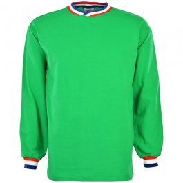 Saint Etienne Retro Long Sleeved Football Shirt - Made to order - Lead Time - 4 weeks